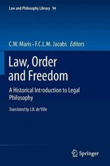Law, Order and Freedom 1st Edition 9789400755697 9400755694