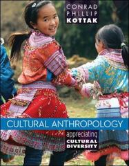 Cultural Anthropology 15th Edition 9780078035005 0078035007