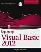 Beginning Visual Basic 2012 1st Edition 9781118311813 1118311817