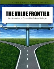 The Value Frontier 1st Edition 9781465203502 1465203508