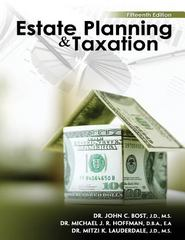 Estate Planning and Taxation 15th Edition 9781465204592 1465204598