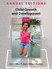 Annual Editions: Child Growth and Development 13/14 20th Edition 9780078135941 007813594X