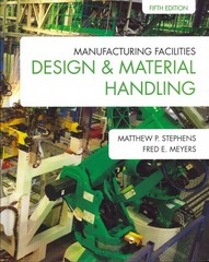 Manufacturing Facilities Design and Material Handling 5th Edition 9781557536501 1557536503