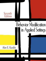 Behavior Modification in Applied Settings 7th Edition 9781478617259 147861725X
