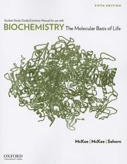 Biochemistry 5th Edition 9780199730971 0199730970