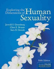 Exploring The Dimensions Of Human Sexuality 5th Edition 9781449698010 1449698018