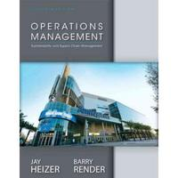 Operations Management 11th Edition 9780133148787 0133148785