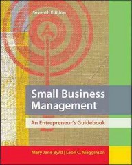 Small Business Management 7th edition 9780078029097 0078029090