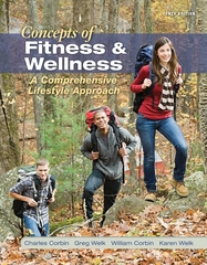 Concepts of Fitness And Wellness: A Comprehensive Lifestyle Approach 10th edition 9780077434373 0077434374