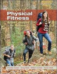Concepts of Physical Fitness 17th edition 9780078022579 0078022576