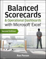 Balanced Scorecards and Operational Dashboards with Microsoft Excel 2nd edition 9781118519653 1118519655