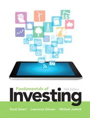 Fundamentals of Investing 12th Edition 9780133075359 0133075354