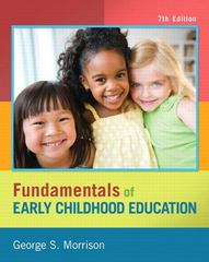 Fundamentals of Early Childhood Education 7th Edition 9780133257595 0133257592