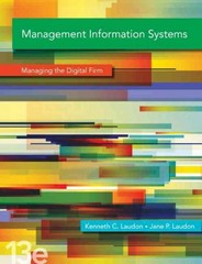 Management Information Systems 13th Edition 9780133050691 0133050696