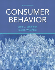 Consumer Behavior 11th Edition 9780132544368 0132544369