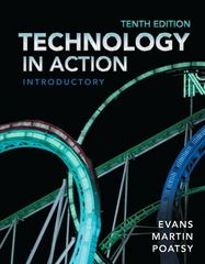 Technology in Action, Introductory 10th edition 9780133141023 0133141020