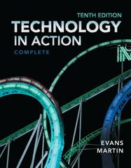 Technology In Action, Complete 10th edition 9780133056228 0133056228