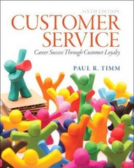 Customer Service 6th Edition 9780133056259 0133056252