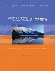 Elementary and Intermediate Algebra 6th edition 9780321848741 0321848748