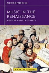 Music in the Renaissance 1st Edition 9780393929164 0393929167