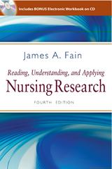 Reading, Understanding, and Applying Nursing Research 4th Edition 9780803627383 0803627386