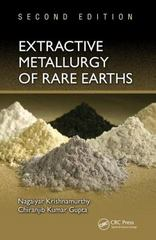 Extractive Metallurgy of Rare Earths, Second Edition 2nd Edition 9781466576346 1466576340