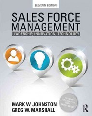 Sales Force Management 11th Edition 9780415534611 0415534615