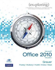 Exploring Microsoft Office 2010, Volume 1 with myitlab -- Access Card 2nd edition 9780133055054 0133055051
