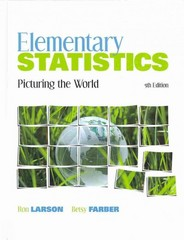 ELEM STATS: PICTURG THE WRLD&MML&GRPHG CALC 5th edition 9780321698841 0321698843