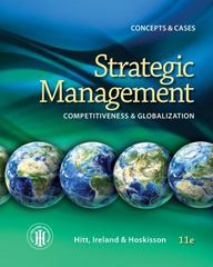 Strategic Management 11th Edition 9781285425177 1285425170