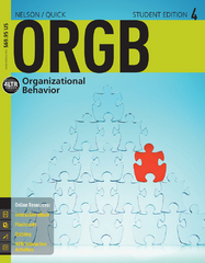 ORGB4 (with CourseMate Printed Access Card) 4th Edition 9781285423265 1285423267