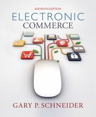 Electronic Commerce 11th Edition 9781285425436 128542543X