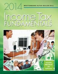 Income Tax Fundamentals 2014 (with H&R Block at Home CD-ROM) 32th Edition 9781285424545 1285424549