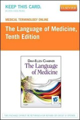 Medical Terminology Online for The Language of Medicine (Access Code) 1st Edition 9781455745364 1455745367