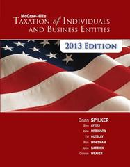 McGraw-Hill's Taxation of Individuals &amp. Business Entities + Connect Plus 4th edition 9780077924522 0077924525