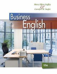 Business English (with MEGUFFEY.COM Printed Access Card) 11th Edition 9781133627500 1133627501