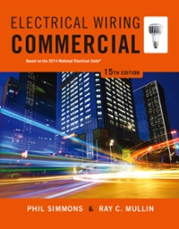 Electrical Wiring Commercial 15th Edition Textbook Solutions