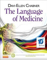 The Language of Medicine 10th Edition 9781455728466 1455728462
