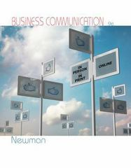 Business Communication 9th Edition 9781285981338 1285981332