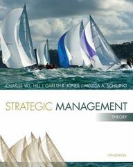 Strategic Management 11th Edition 9781285184494 1285184491