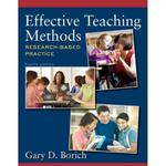 Effective Teaching Methods 8th edition 9780132849609 0132849607