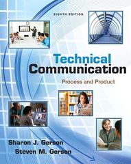 Technical Communication 8th Edition 9780321864949 0321864948
