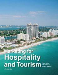 Marketing for Hospitality and Tourism 6th Edition 9780132784023 0132784025