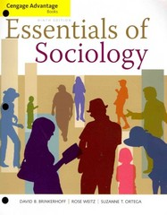 Essentials of Sociology 9th edition 9781133940746 1133940749