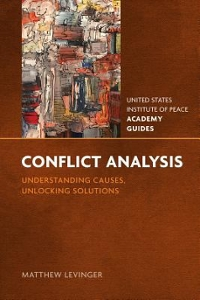 Conflict Analysis 1st Edition 9781601271433 1601271433