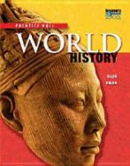 High School World History 2011 Survey Student Edition Grade 9/10 1st Edition 9780133720488 0133720489