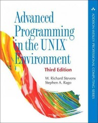 Advanced Programming in the UNIX Environment 3rd Edition 9780321637734 0321637739