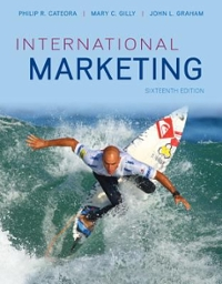 International Marketing with ConnectPlus Access Card 16th edition 9780077701529 0077701526