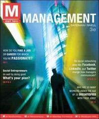 M: Management 3rd edition 9780078029523 007802952X