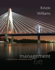 Management 6th Edition 9780078029547 0078029546